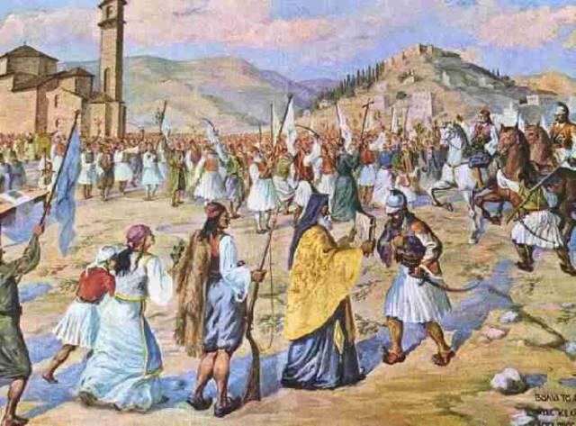 17 Μαρτίου 1821 - Η Αυγή της Επανάστασης